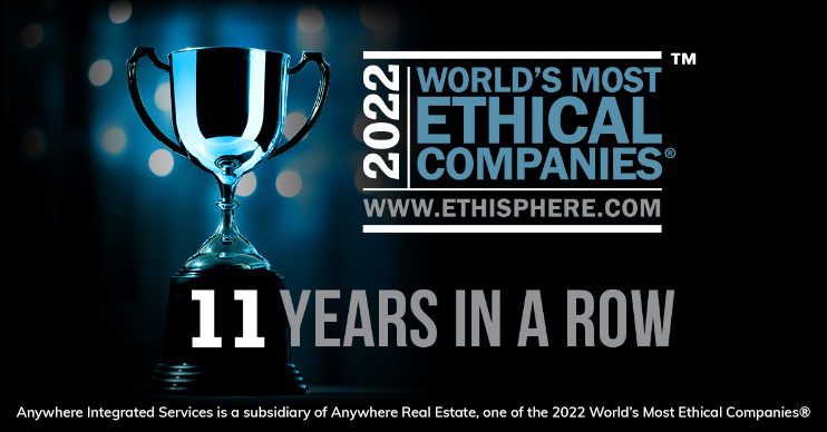 Ethisphere's world's most ethical companies 10 years in a row